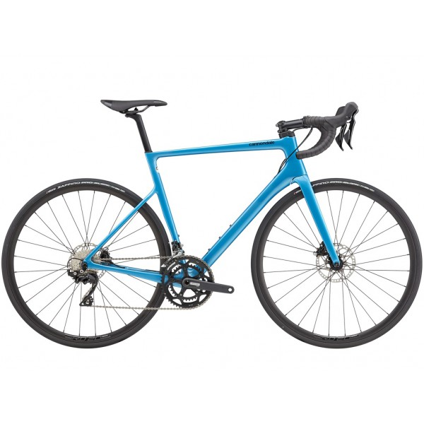 Cannondale Supersix Evo Disc 105 Azul 2021