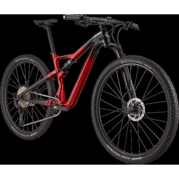 Cannondale Scalpel Carbon 3 Vermelha/Preto 2021